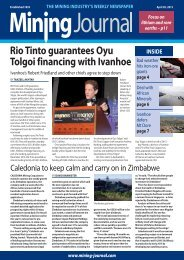 Rio Tinto guarantees Oyu Tolgoi financing with Ivanhoe