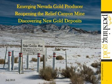 Pershing Gold Corporation