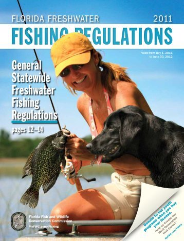 Florida Freshwater Recreational Fishing Regulations