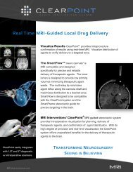Real Time MRI-Guided Local Drug Delivery