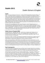 Englisch in Dublin - ESO
