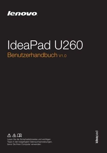 U260 UserGuide V1.0 - Lenovo