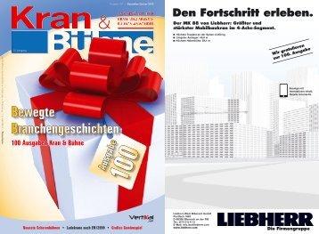 Kran & Bühne, Dezember 2011: Titel