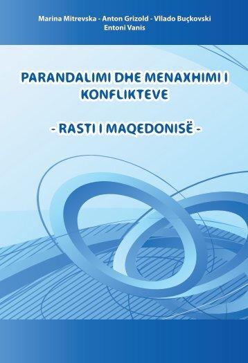 parandalimi dhe menaxhimi i konflikteve - rasti i maqedonisë