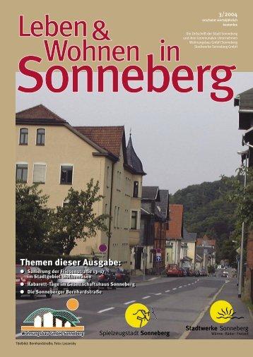 Heft 2-03 - Sonneberg