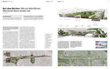 Bari ohne Barriere | Wie aus Bahnflächen öffentlicher ... - Bauwelt