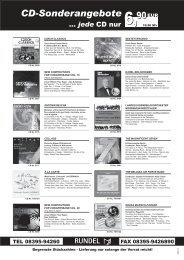 CD-Sonderangebote