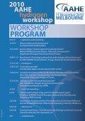 2010 AAHE hydrogen workshop - Australian Institute of Energy - Page 2