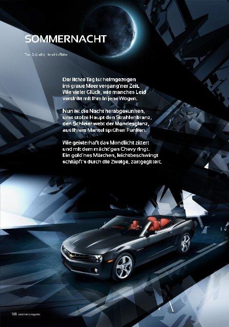 bond men's magazine - Ausgabe #005 [2012]
