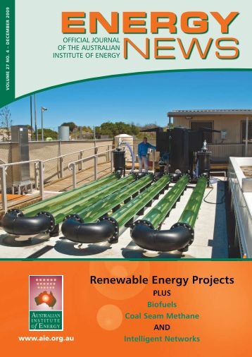 Volume 27 No 4 - Dec 2009 - Australian Institute of Energy