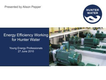 Download presentation - Alison Pepper - Australian Institute of Energy