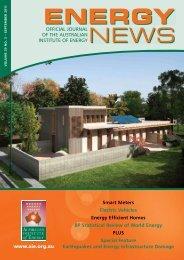 Volume 29 No 3 - Sep 2011 - Australian Institute of Energy