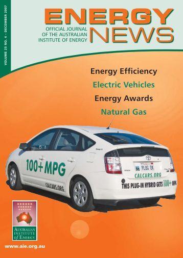 Dec 2007 - Australian Institute of Energy