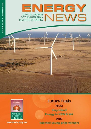 Future Fuels - Australian Institute of Energy