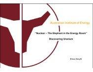 Erica Smyth - Australian Institute of Energy