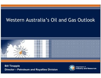 Western Australia's Oil and Gas Outlook - Australian Institute of Energy