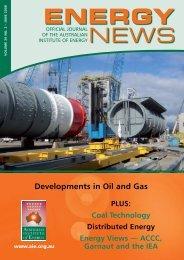 Volume 26 No 2 - Jun 2008 - Australian Institute of Energy