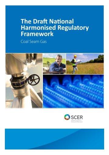 The Draft National Harmonised Regulatory Framework - Standing ...
