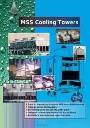 MSS FA - Tasman Cooling Towers