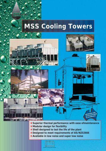 MSS FA - Tasman Cooling Towers