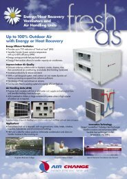 Energy, Heat Recovery Units - Industrial Air