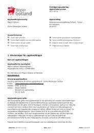Anvisningar för upphandlingen (pdf) - Sveriges Radio