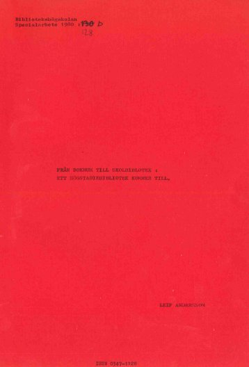 1980 nr 128.pdf - BADA - Högskolan i Borås