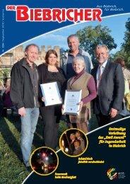 DER BIEBRICHER :: Ausgabe 226, September 2010 - Gerich