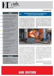 KD-Info 1/2013 - Karl Deutsch