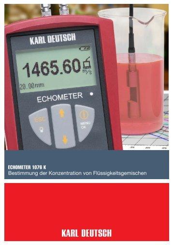Prospekt - Karl Deutsch