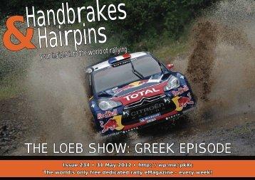Handbrakes & Hairpins Issue 234