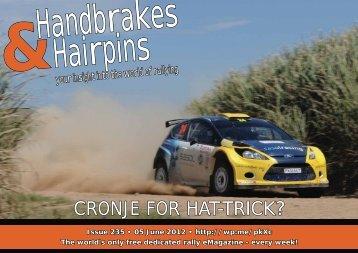 Handbrakes & Hairpins issue 235