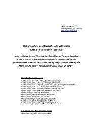 29/2011 - Deutscher Anwaltverein