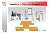 Laboratorio de Tratamiento de Aguas 5 l/h