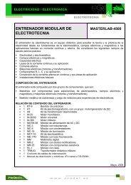 ENTRENADOR MODULAR DE ELECTROTECNIA