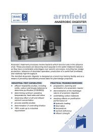 PDF datasheet - Armfield