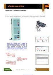 Toma de datos y evaluación con ordenador CASSY® - el sistema de ...