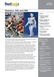 Robotics, CNC and FMS