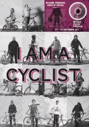 Bristol Cycle Festival programme