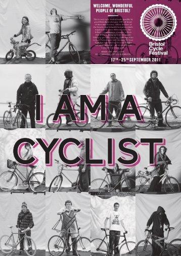 Bristol Cycle Festival programme