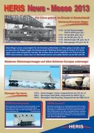 Neuheiten 2013 als PDF Datei - Heris-Modelleisenbahn
