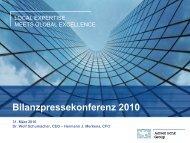 Präsentation Bilanzpressekonferenz 2010 - Aareal Bank AG