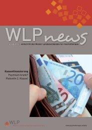 WLP News 2-3/2012 - Österreichischer Bundesverband für ...