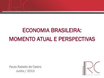 economia brasileira: momento atual e perspectivas - Abit