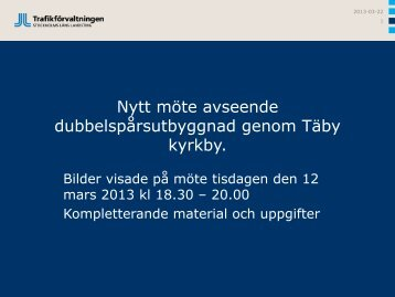 Täby kommun 2013-03-12 - SL