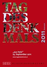Tag des Denkmals 2011 - Mariazell