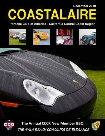 Coastalaire - California Central Coast - Porsche Club of America