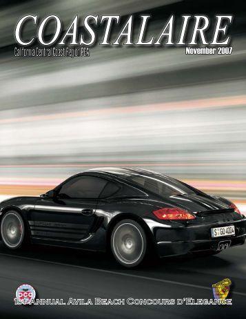 November 2007 - California Central Coast - Porsche Club of America