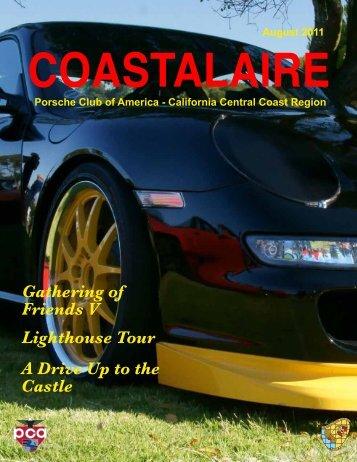 August 2011 COASTALAIRE - California Central Coast - Porsche ...