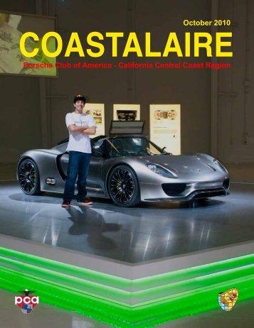 October 2010 COASTALAIRE - California Central Coast - Porsche ...